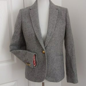 NWOT J.Crew Campbell one button blazer